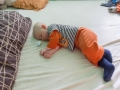 To plazení je docela náročné, takže teď hodně spím.