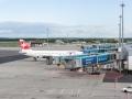 V Praze na letišti.