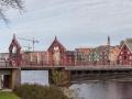 Nejstarší dřevěný most ve městě.