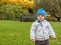 Na procházce v parku.