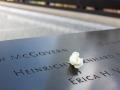 Deatail Memorialu 9/11.