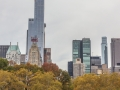 Pohled z Central parku.