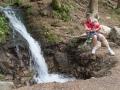 Vodopádek a opět oblíbená činnost.