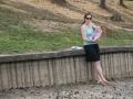 Poflakování se na břehu.