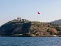 Yoros Castle u Černého moře.