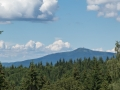 Pohled na Lysou horu.