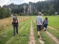 Vyrážíme na zříceninu hradu Adršpach.