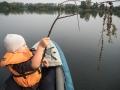 ...na rybaření.