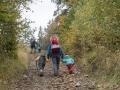Pokračujeme ve stoupání. Adamík pokořen nebyl. Jako správní horolezci jsme totiž mysleli i na sestup.