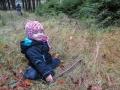 Cesta se však trochu zvrhla v hledání hub...