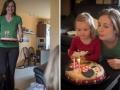 Narozeninový dort připravovala maminka.