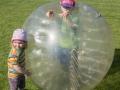 Sobotu odpoledne trávíme na dětském dni v Července.