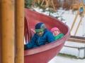 Dětské hřiště ve Vrbně je naprosto skvělé.